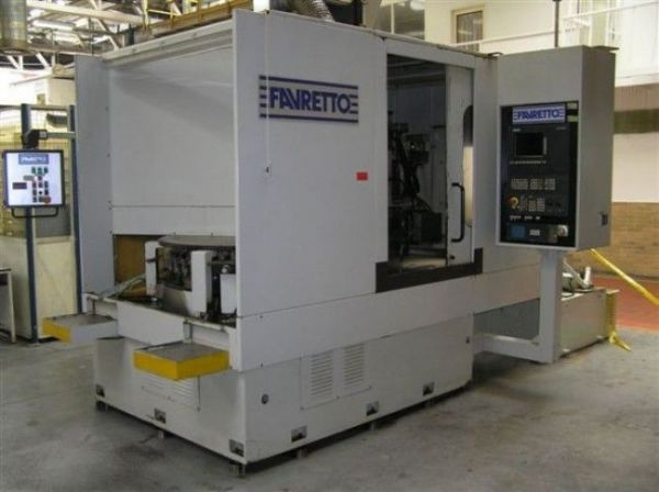 Rectificadora de superficies planas FAVRETTO MR/V 120 CNC 1998