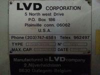 CNC Hydraulic Press Brake LVD 275 BH-15N-MNC 1982-Photo 3