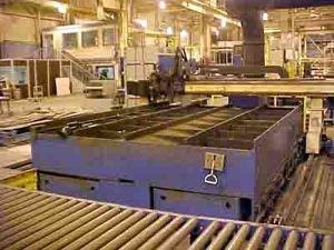 Maquina de corte plasma 2D M G MPMM 1997