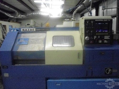 CNC Lathe MAZAK QUICK TURN 10 N 1985