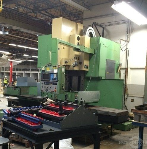 CNC Vertical Machining Center MORI SEIKI MV-80 A 1988