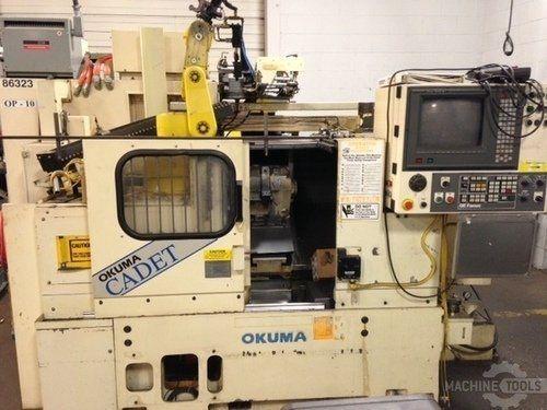 CNC τόρνο OKUMA LNC-8G GANTRY 1994