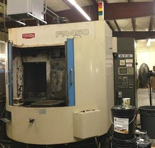 CNC Horizontal Machining Center TOYODA FA 450 1995