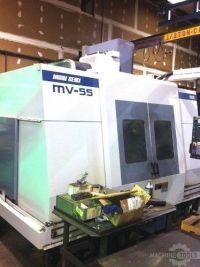 CNC de prelucrare vertical MORI SEIKI MV-55/50