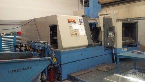 CNC Vertical Machining Center MAZAK FJV-250 2 APC 1999