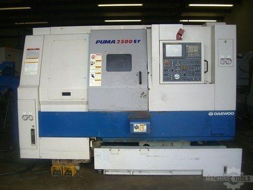 CNC Lathe DAEWOO PUMA 2500SY 2004