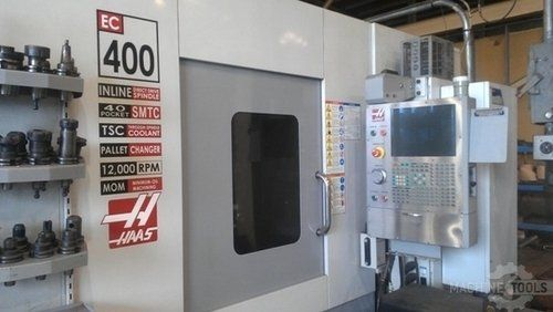 CNC centro de usinagem horizontal HAAS EC-400 2007