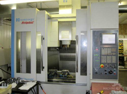CNC 수직형 머시닝 센터 HARDINGE Bridgeport VMC-760XP3 2007