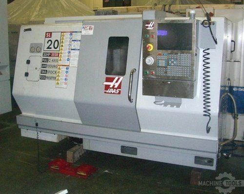 Torno CNC HAAS SL-20 TM 2008