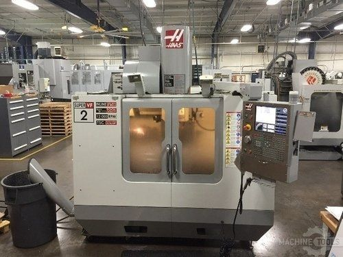 CNC Vertical Machining Center HAAS VF-2 SS 2008