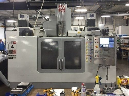 CNC Vertical Machining Center HAAS VF-4 SS 2008