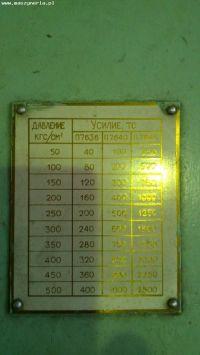 Maszyna wytrzymałościowa STANKOIMPORT P 7640 1990-Zdjęcie 7
