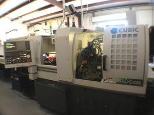 Automatische CNC draaibank CUBIC DIAMOND 42 CSL 2008