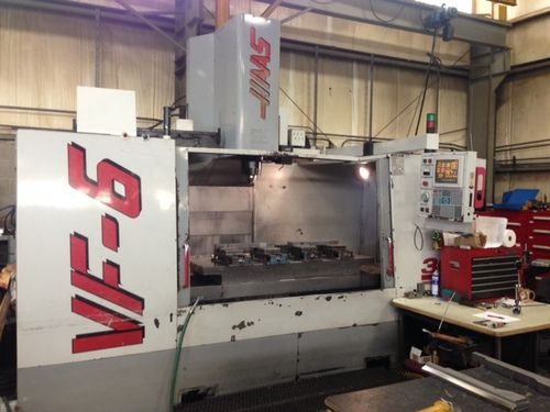CNC centro de usinagem vertical HAAS VF-6/50 1997