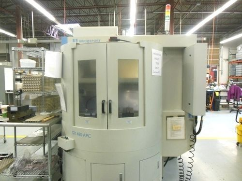 CNC Vertical Machining Center HARDINGE Bridgeport GX 480 APC 2011