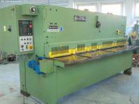 NC Hydraulic Guillotine Shear STROJARNE PIESOK HN 3150 / 6,3 CNTA
