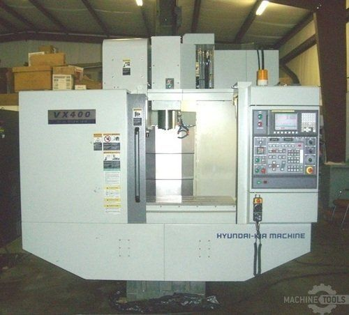CNC Vertical Machining Center HYUNDAI WIA VX-400 2011