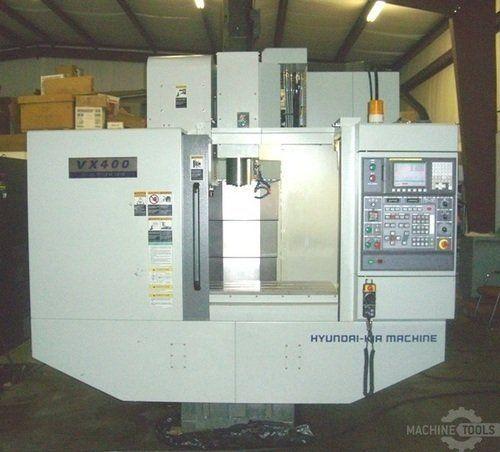 CNC de prelucrare vertical HYUNDAI WIA VX-400 2011
