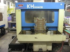 CNC centro de usinagem horizontal KIA KH-40 B 1994