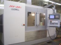 Centrum frezarskie pionowe CNC LEADWELL MV-50I