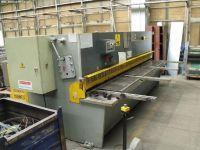 NC Hydraulic Guillotine Shear STROJARNE PIESOK QC12Y 6X3200