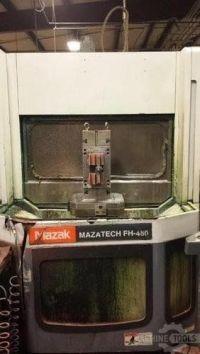 Horizontales CNC-Fräszentrum MAZAK FH-480