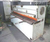 Nożyce gilotynowe hydrauliczne NC STROJARNE PIESOK NTC 2500/4