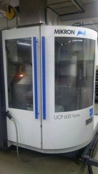CNC centro de usinagem vertical MIKRON UCP 600