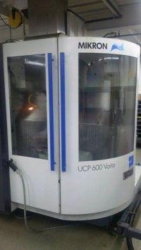 CNC verticaal bewerkingscentrum MIKRON UCP 600