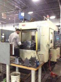 Horizontales CNC-Fräszentrum TOYODA FA 550