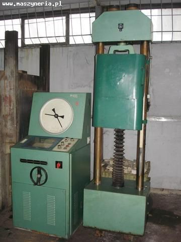 Testing Machine FRITZ HECKERT ZD 10/90 1980