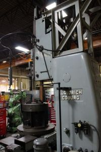 Vertikal slissing maskin WALDRICH WS 350 1990-Bilde 6