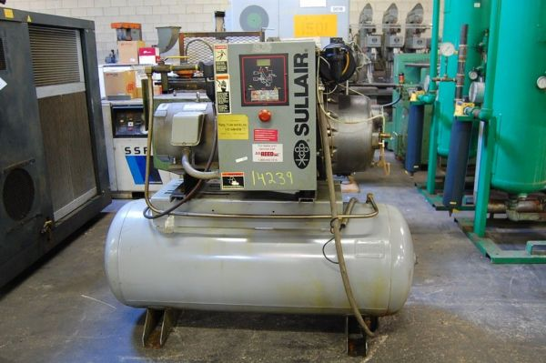 Screw Compressor SULLAIR 8E-15 HH 230 V 1990