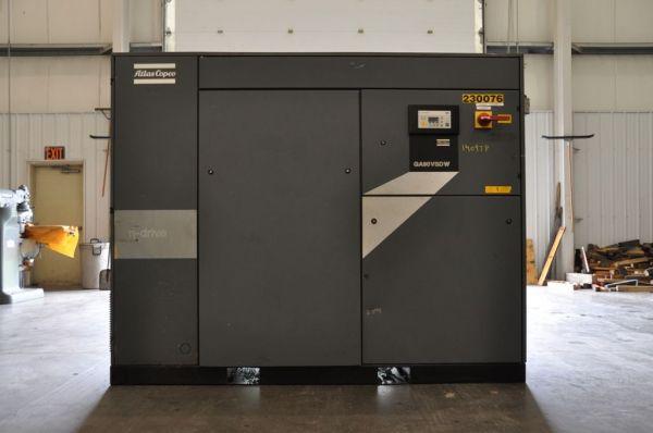 Screw Compressor ATLAS COPCO GA 90 VSDW 2000