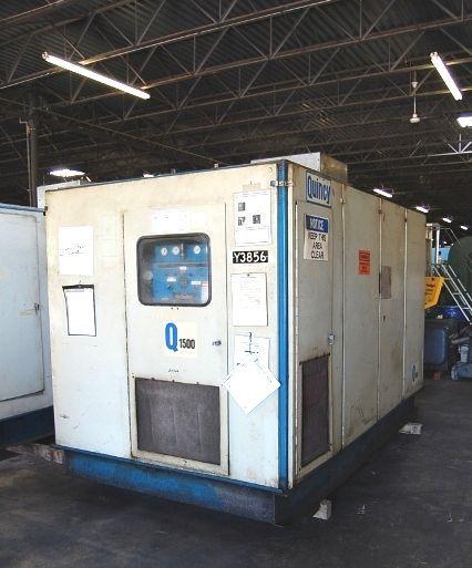 Screw Compressor QUINCY Q1500 1983