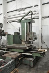 Horizontal Boring Machine WOTAN B 105 M