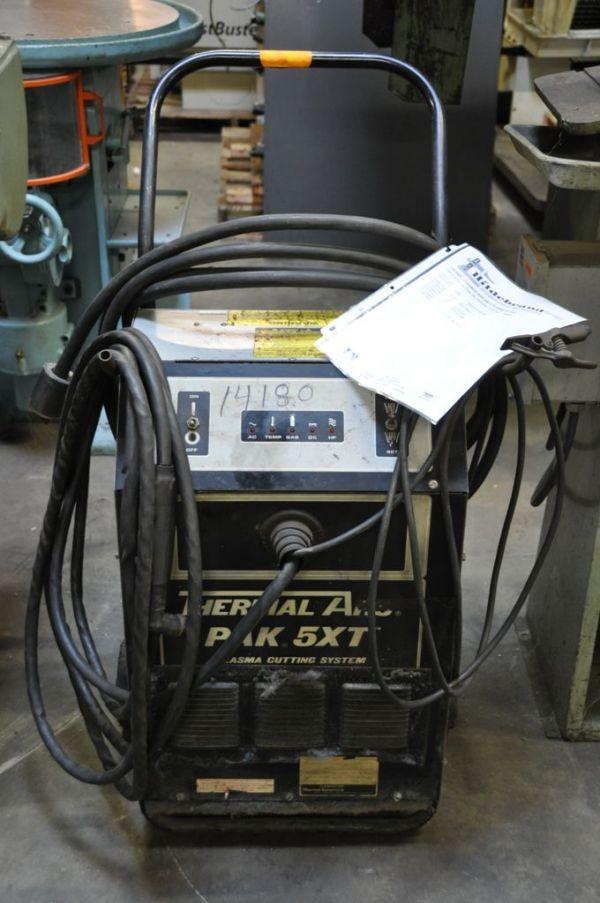 2D Plasma cutter THERMAL PAK 5 XT 1990