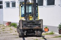 Wózek widłowy czołowy HYSTER H4,5 FT6 FORTENS 2006-Zdjęcie 6