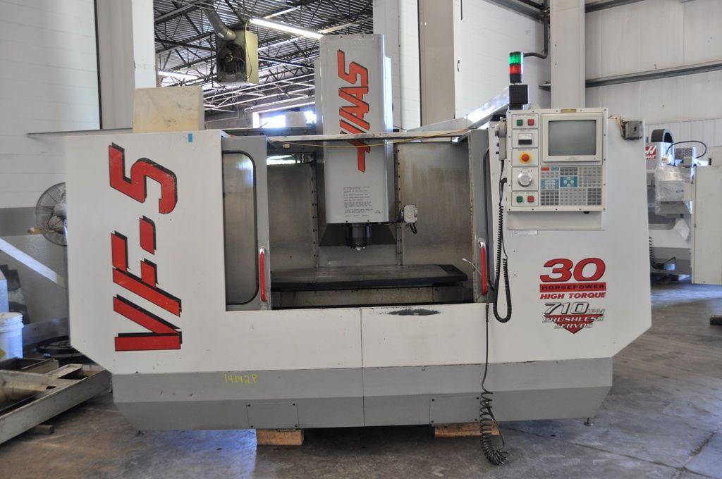 Vertikal CNC Fräszentrum HAAS VF-5