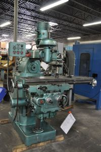 Toolroom Milling Machine POWERMATIC MODEL Q