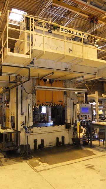 H Frame Hydraulic Press SCHULER HPDZB 200 2001