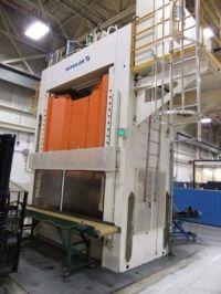 H Frame Hydraulic Press SCHULER HPDZB 200 2002-Photo 3