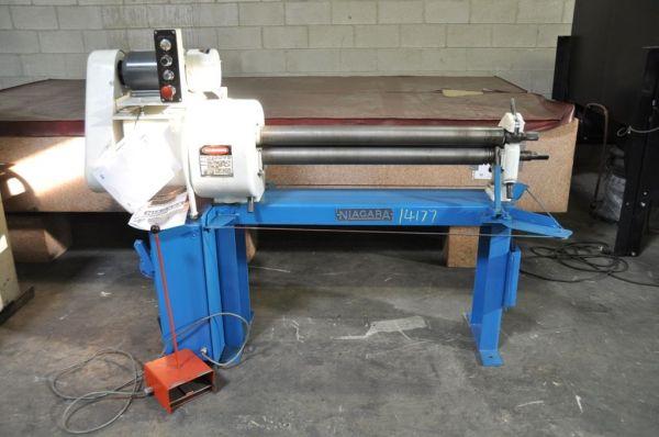 3 Roll Plate Bending Machine NIAGARA 340-P 1987