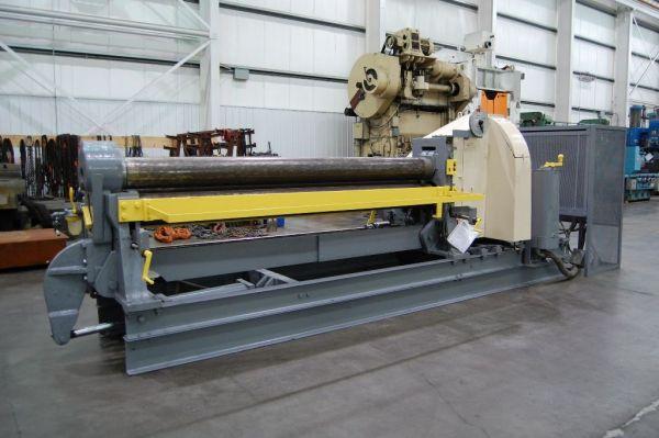 3 Roll Plate Bending Machine BERTSCH INITIAL PINCH 1958