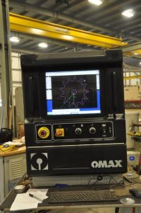 2D WaterJet OMAX 60120 2008-Photo 3