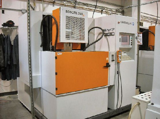 Wire Electrical Discharge Machine CHARMILLES 240 SL 2006