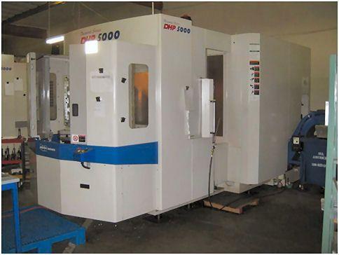 Horizontální obráběcí centrum CNC DAEWOO DHP-5000 2006