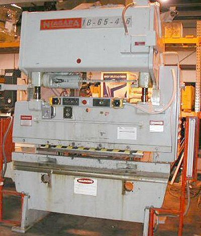 Mechanical Press Brake NIAGARA 1B-65-4-6 1979