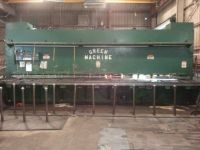 Hydraulic Guillotine Shear CHICAGO DREIS KRUMP GREEN MACHINE