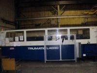 2D 레이저 가공기 TRUMPF L 4030